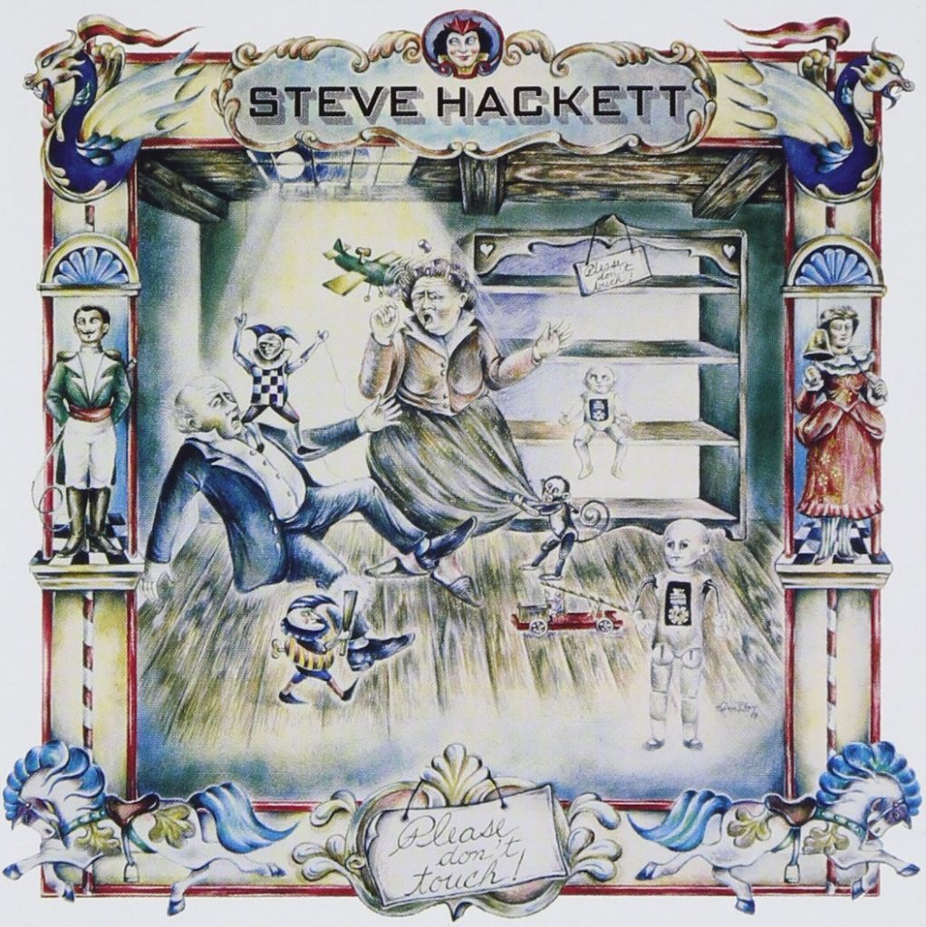 Steve Hackett Please Don't Touch, la copertina
