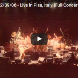 Genesis Live in Pisa Full Concert
