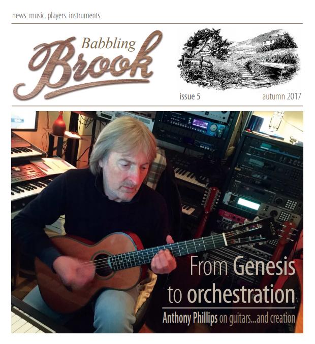 La copertina di Babbling Brook - CLICCA PER LEGGERE L'INTERVISTA