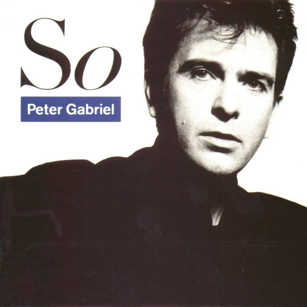 Peter Gabriel - So - Front