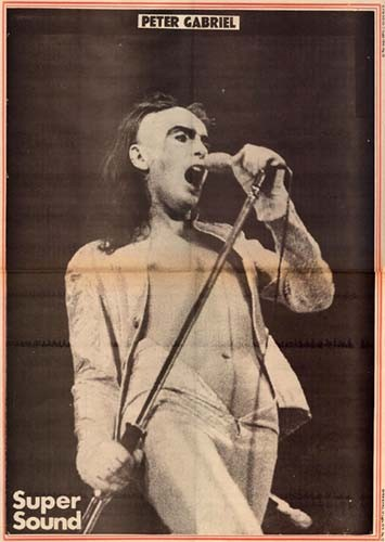 Genesis, Rome, Supper's Ready. Super Sound Magazine photo