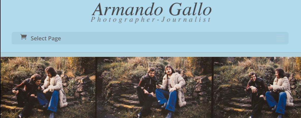 Clicca qui per andare al sito web di Armando Gallo