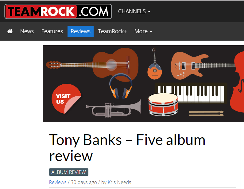 Click on the image and read the TeamRock.com review