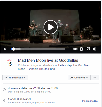Mad Men Moon - Tribute Band